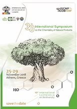 30th International Symposium on the Chemistry of Natural Products & 10th International Congress on Biodiversity (ISCNP30 & ICOB10)