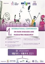 1st International Conference on Rare Diseases and Paediatric Research  - Virtual Conference