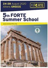 FORTE Summer School - The Summer School has been postponed. New dates will be announced soon.