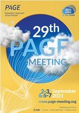 29th PAGE Virtual Meeting